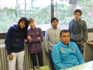 El grup de l'Aula d'Acollida