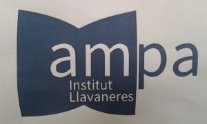 El nou logo de l'AMPA de l'Institut Llavaneres