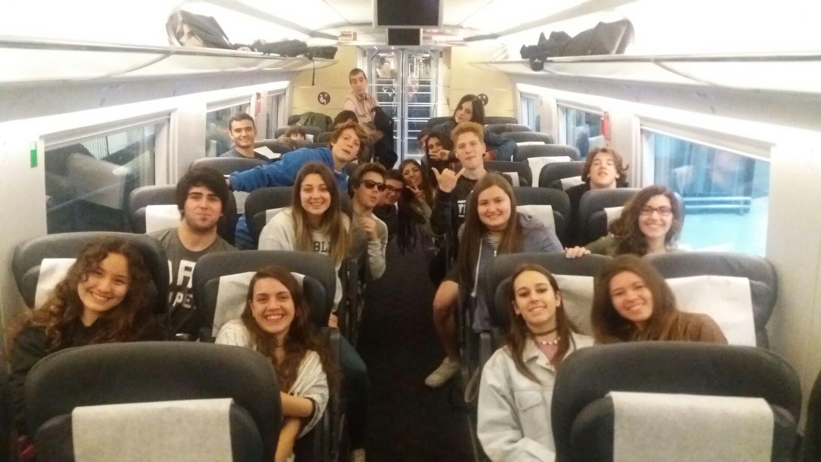 Sortida a Madrid – Alumnes de VIP de 4t ESO