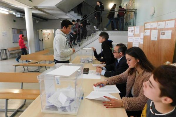 Eleccions al Consell Escolar – sector alumnes